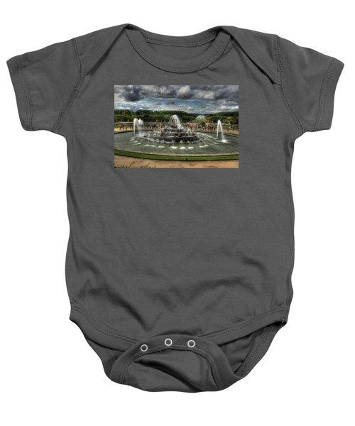Versailles Fountain Baby Onesie