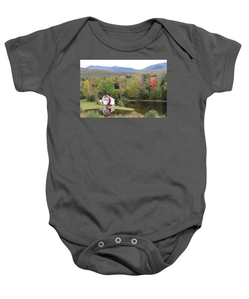 White Mountains Indian Head Nh Baby Onesie