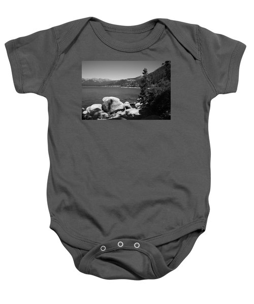 Baby Onesie featuring the photograph Lake Tahoe by Frank Romeo