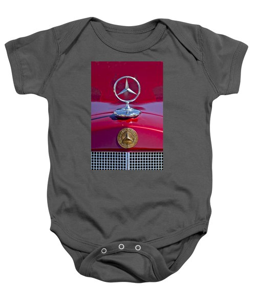 1953 Mercedes Benz Hood Ornament Baby Onesie