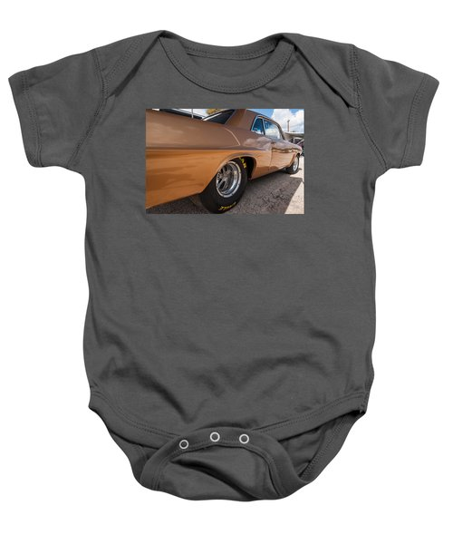 1963 Pontiac Lemans Race Car Baby Onesie