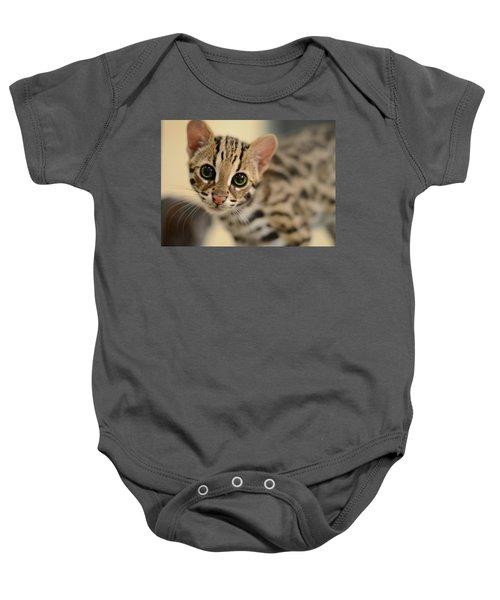 Asian Leopard Cub Baby Onesie