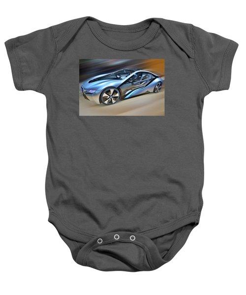 B M W  Edrive I8  Concept  2014 Baby Onesie