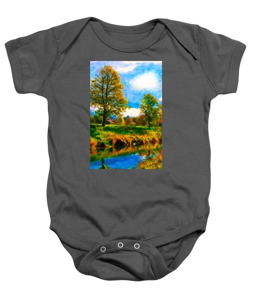 Canal 2 Baby Onesie