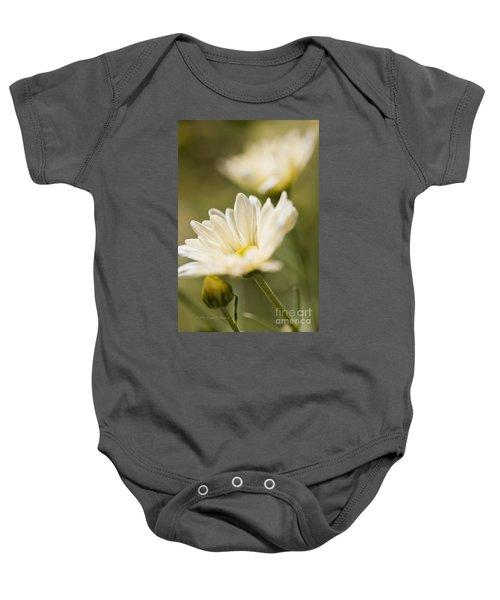 Chrysanthemum Flowers Baby Onesie