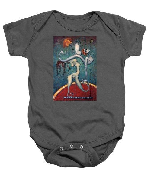 Doctor Vultura's Proportional Sky-fish Daughters  Baby Onesie