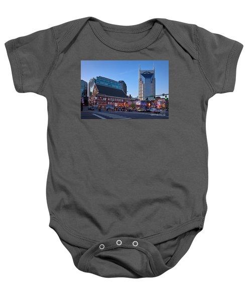 Downtown Nashville Baby Onesie