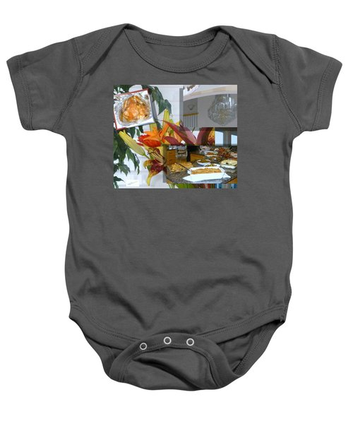 Holiday Collage Baby Onesie
