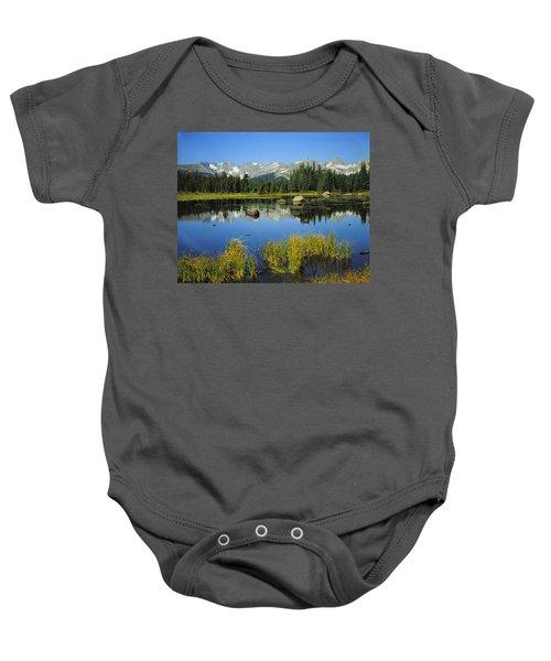 Indian Peaks Wilderness Area, Colorado Baby Onesie