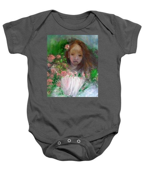 Mary Rosa Baby Onesie