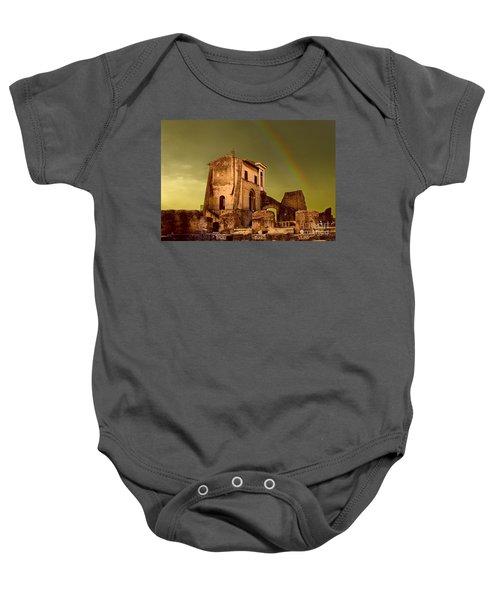 Ruin At Palatine Hill Baby Onesie