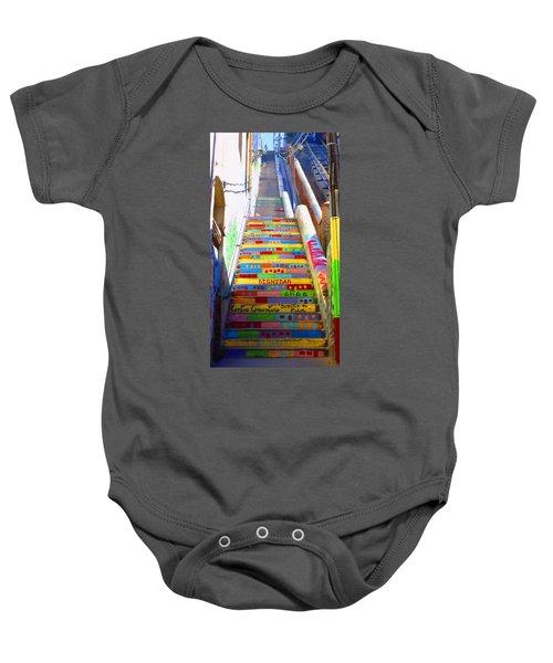 Stairway To Heaven Valparaiso  Chile Baby Onesie