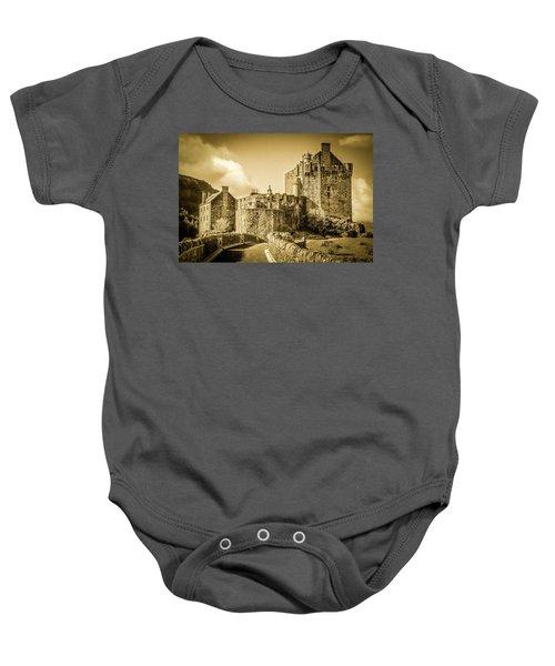 Eilean Donan Castle Baby Onesie