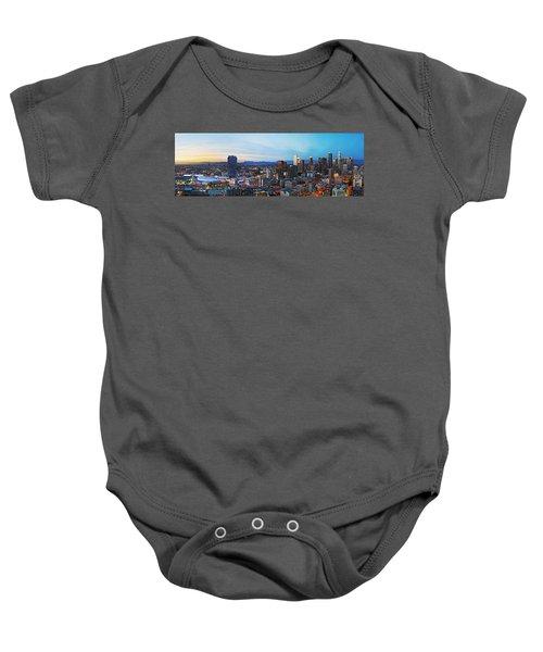 Los Angeles Skyline Baby Onesie by Kelley King