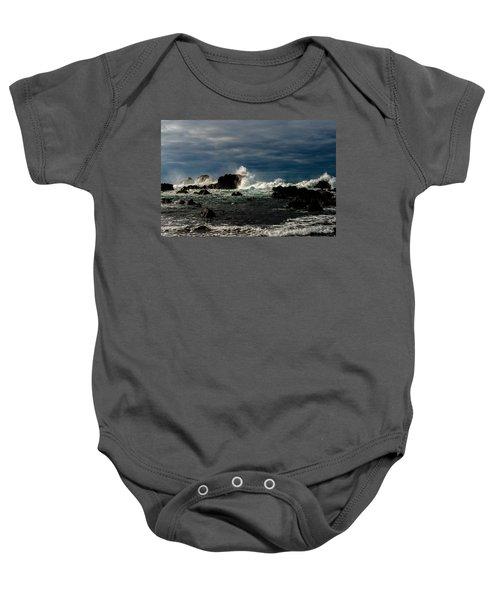 Stormy Seas And Skies  Baby Onesie