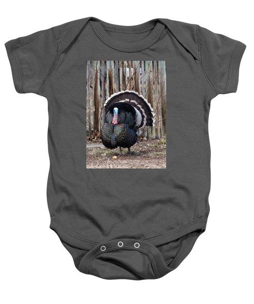 Strutting Turkey Baby Onesie