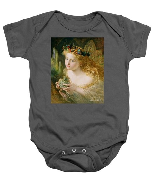 Take The Fair Face Of Woman Baby Onesie