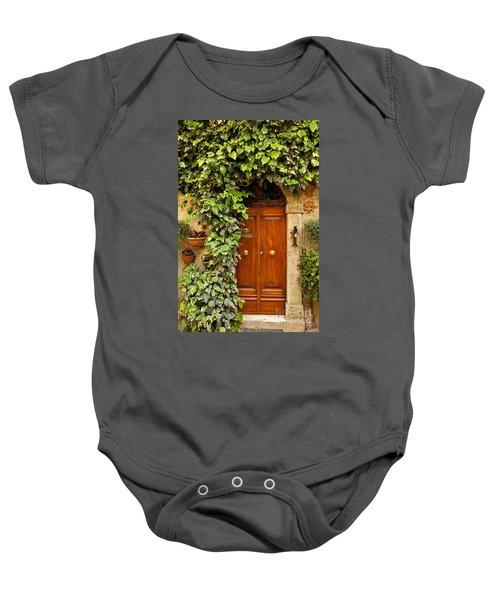 Tuscan Door Baby Onesie