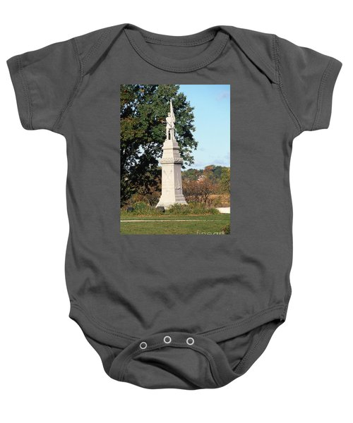 30u13 Hood Park Monument To Civil War Soldiers And Sailors Photo Baby Onesie