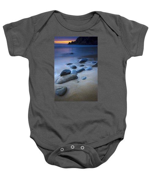 Campelo Beach Galicia Spain Baby Onesie
