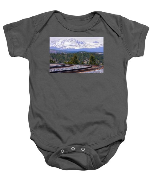 Freight On The Divide Baby Onesie