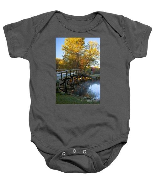 Old North Bridge Concord Baby Onesie