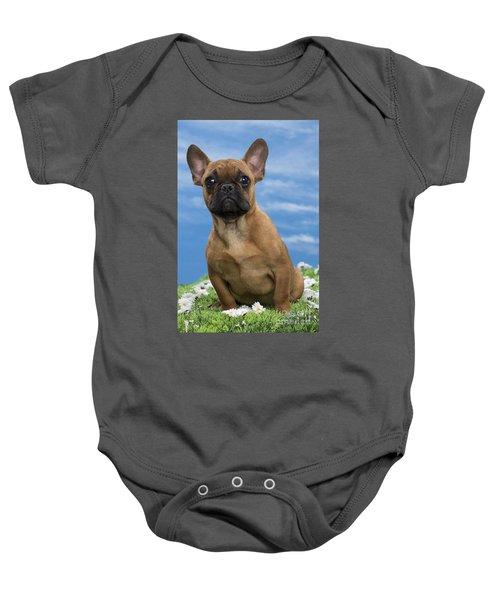 French Bulldog Puppy Baby Onesie