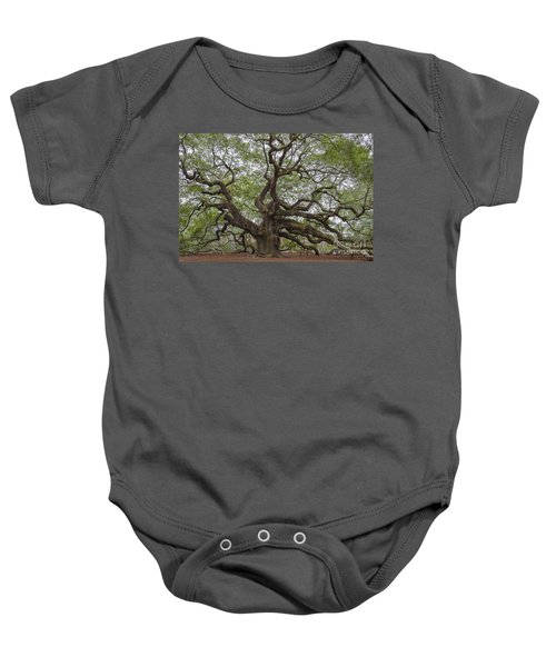 Sc Angel Oak Tree Baby Onesie
