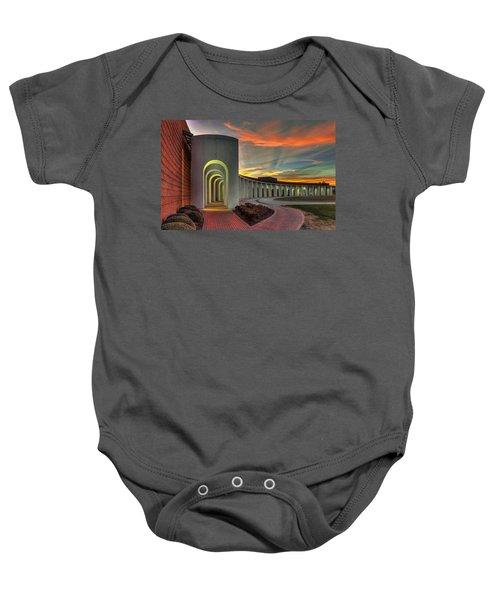 Ferguson Center For The Arts Baby Onesie
