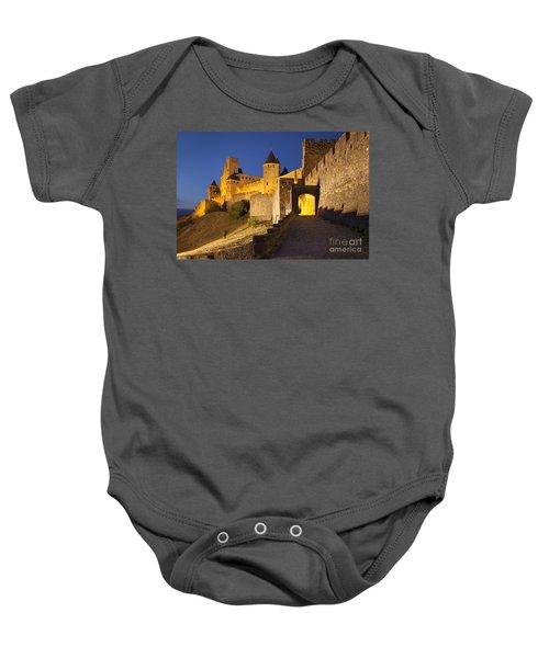 Medieval Carcassonne Baby Onesie