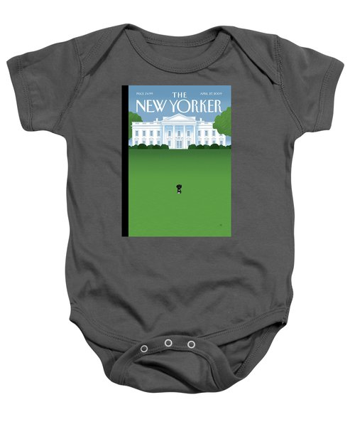 New Yorker April 27th, 2009 Baby Onesie