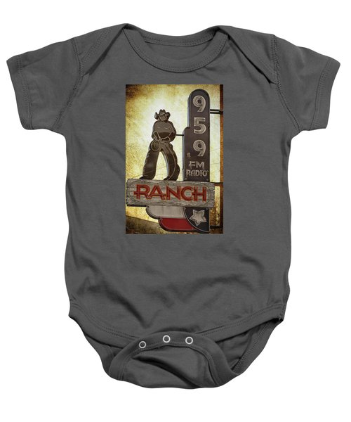 95.9 The Ranch Baby Onesie