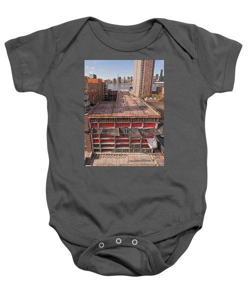 9th Floor Forms Baby Onesie