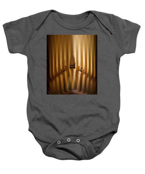 A Blur Of Pipes Baby Onesie