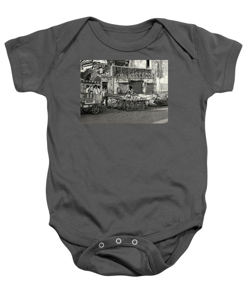 A Chat Among Friends Baby Onesie