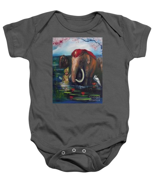 A Day Of Peace Together-  A.d.o.p.t. Baby Onesie