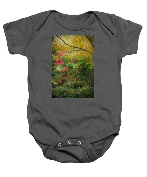 A Fall Afternoon Baby Onesie