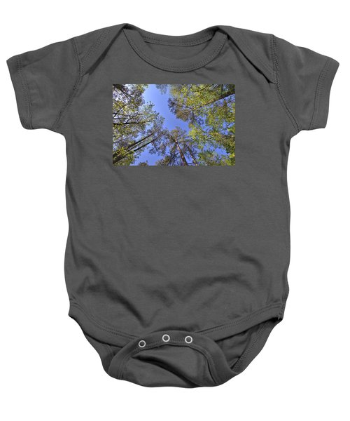 A Forest Sky Baby Onesie