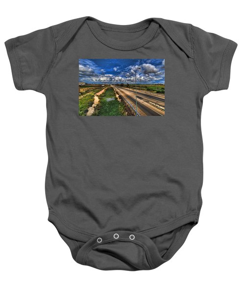a majestic springtime in Israel Baby Onesie