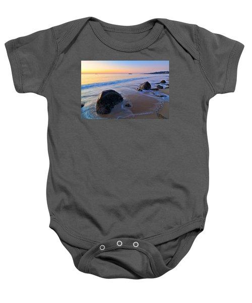 A New Day Singing Beach Baby Onesie
