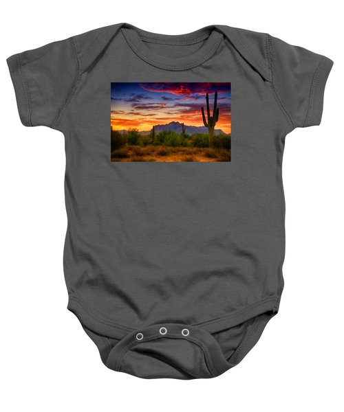 A Painted Desert  Baby Onesie