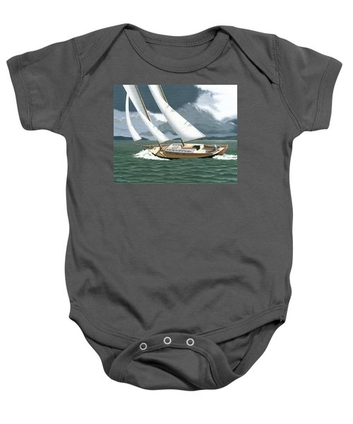 A Passing Squall Baby Onesie