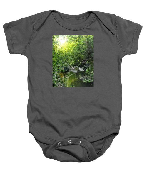 A Road Less Traveled Baby Onesie