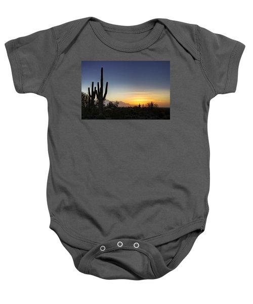 A Sonoran Sunrise  Baby Onesie