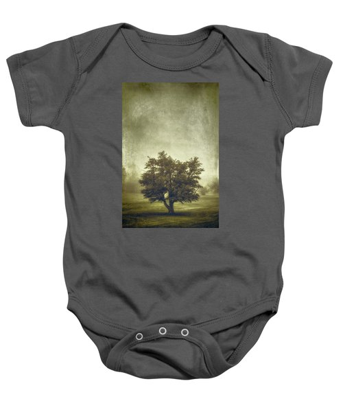 A Tree In The Fog 2 Baby Onesie