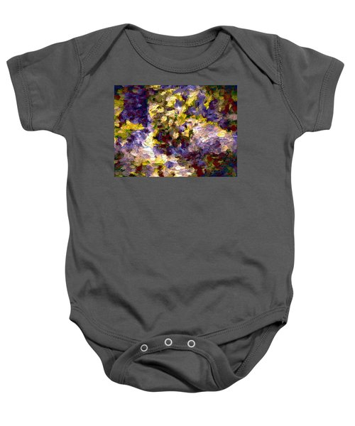 Abstract Artwork 10 Baby Onesie