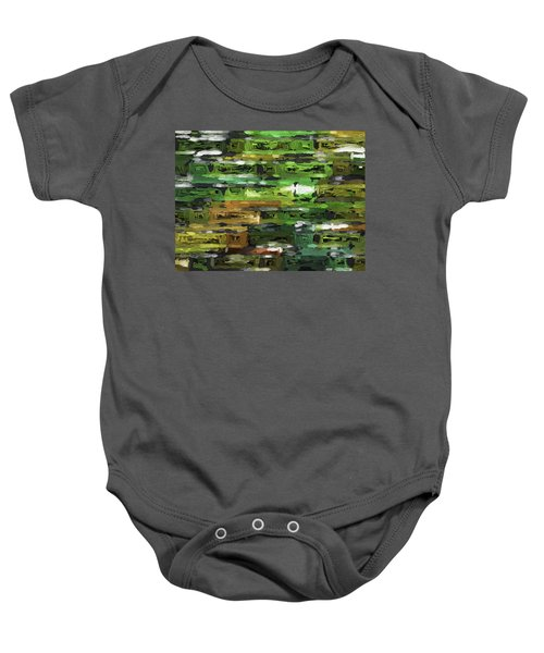 Abstract Artwork A4 Baby Onesie