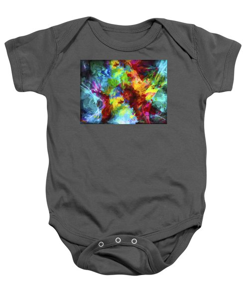 Abstract Artwork A9 Baby Onesie