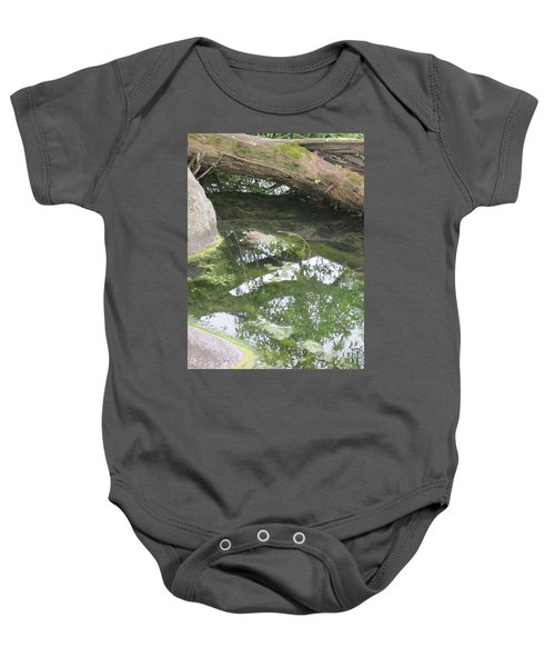 Abstract Nature 3 Baby Onesie