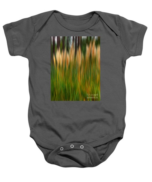 Abstract Of Movement Baby Onesie